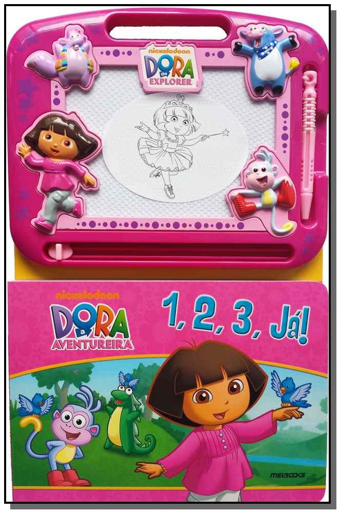 1, 2, 3 Ja - Livro Lousa - Dora a Aventureira