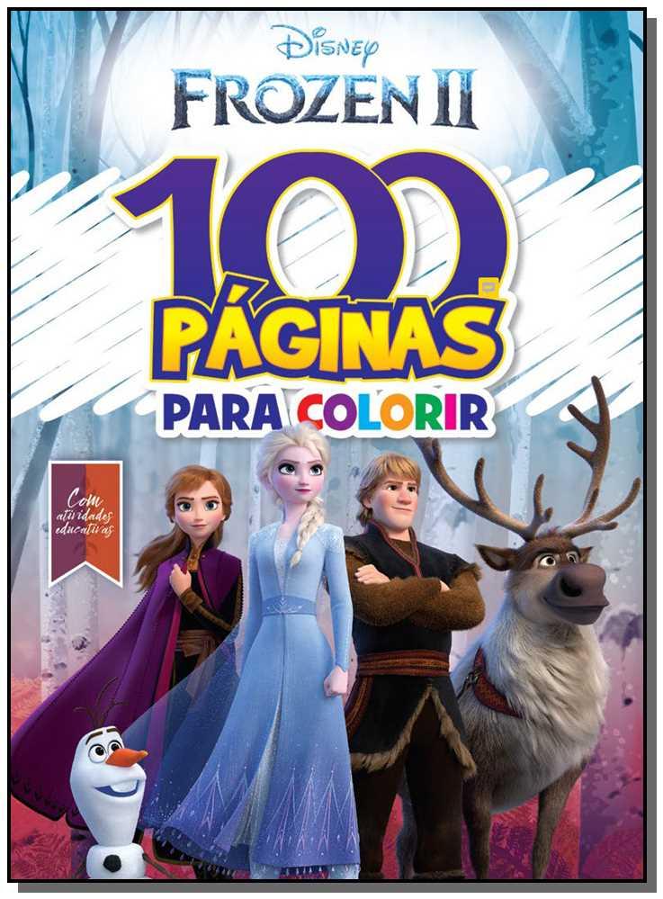 100 Paginas para Colorir Disney Frozen 2