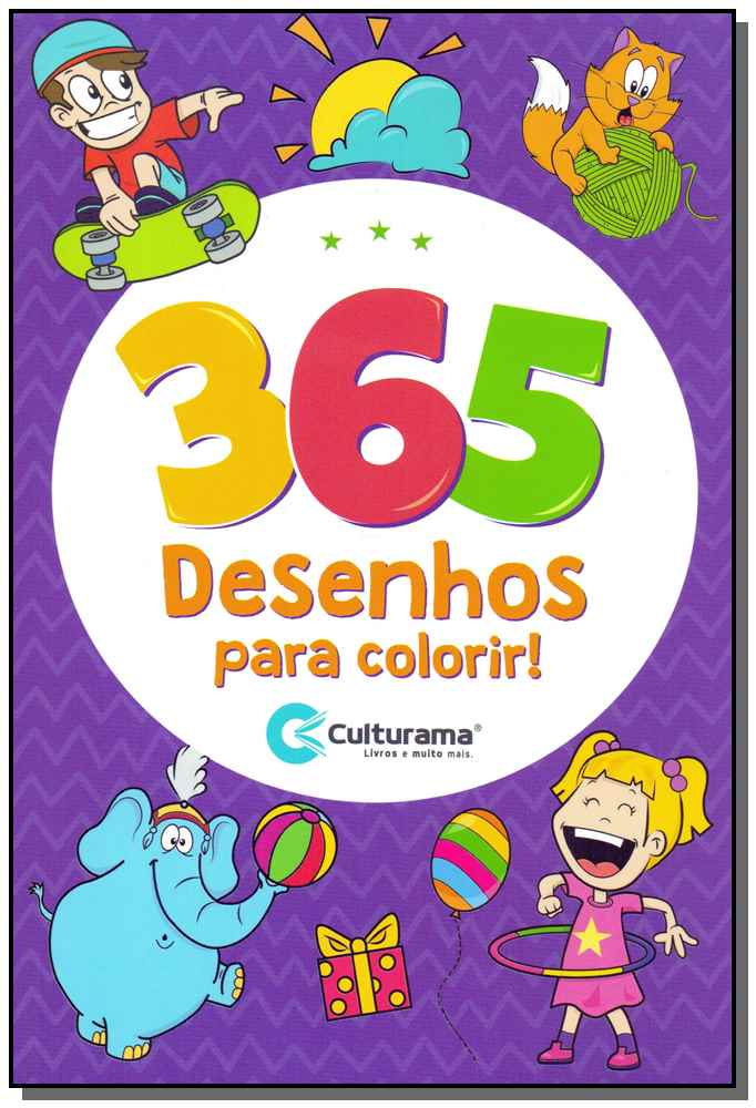 365 Desenhos Para Colorir!