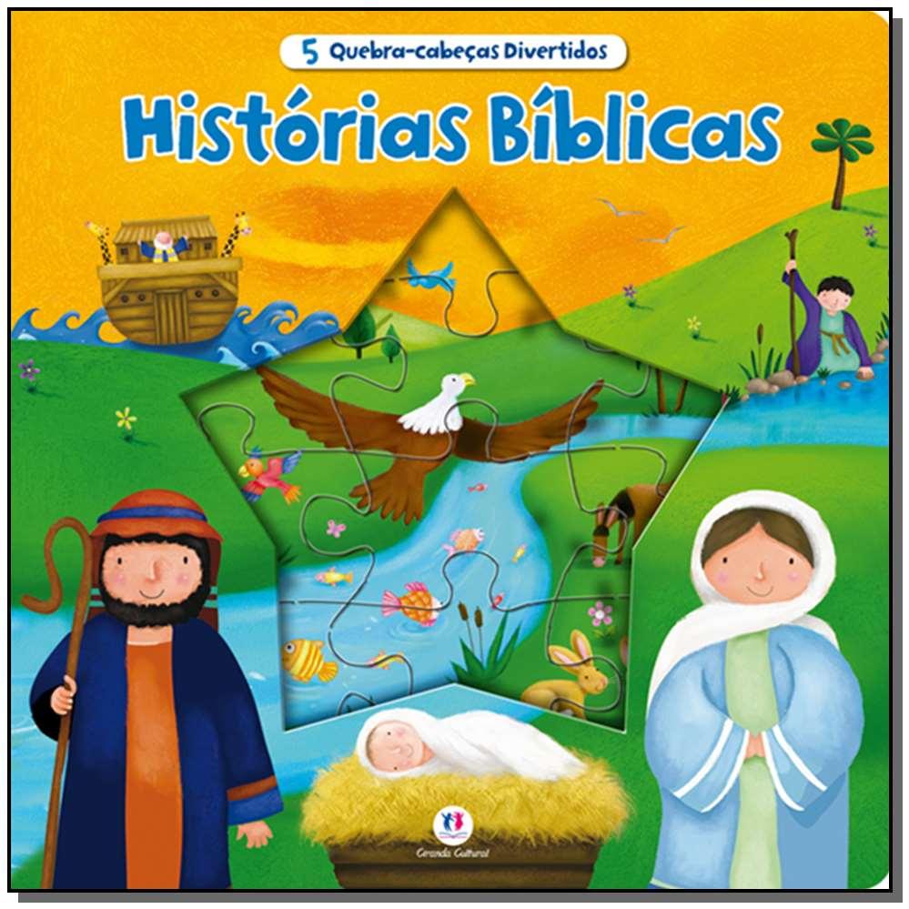 5 Quebra-cabecas Divertidos-historias Biblicas