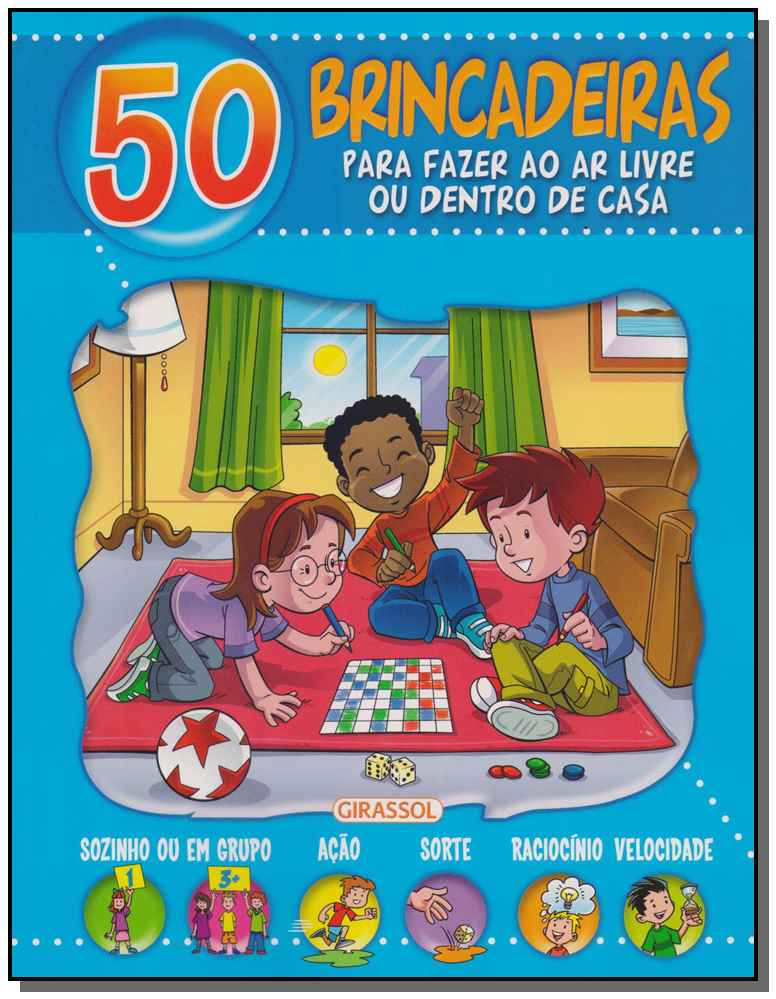 50 Brincadeiras - (Capa Azul)