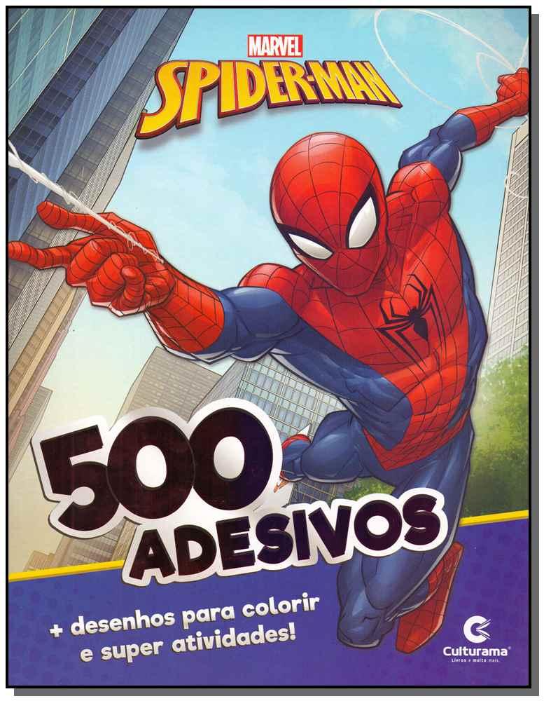500 Adesivos - Homem-Aranha