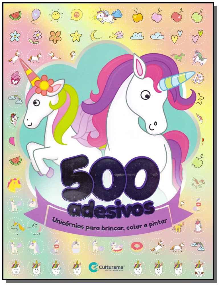 500 ADESIVOS - UNICORNIOS