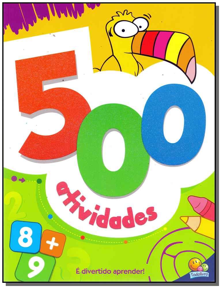 500 Atividades - (Laranja)