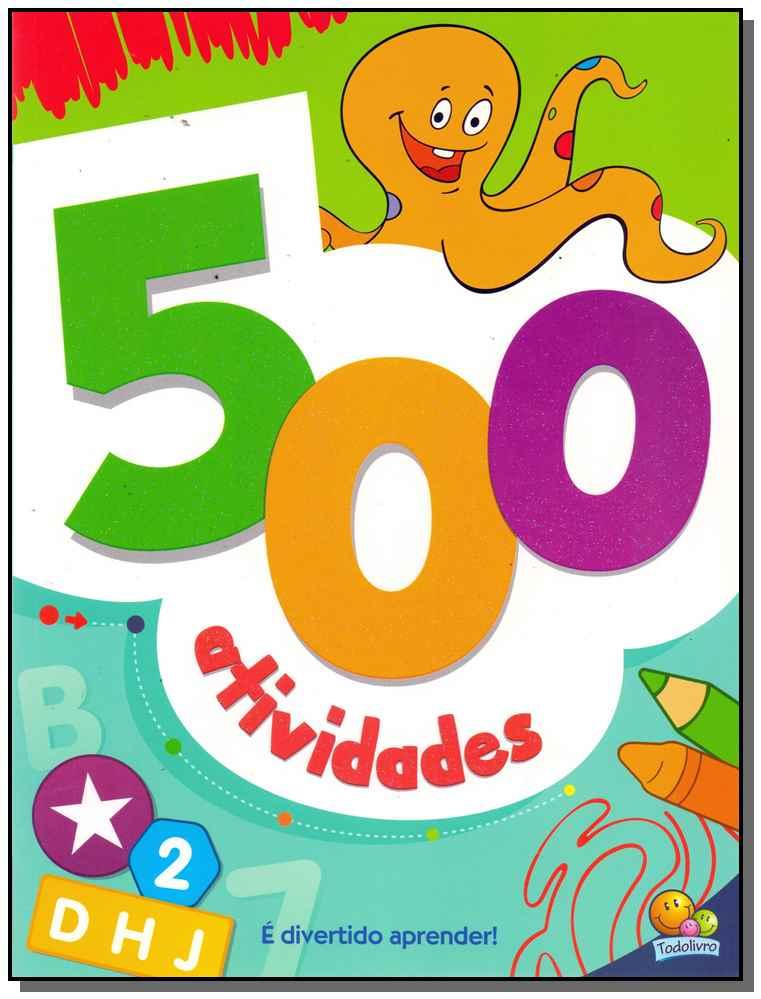 500 Atividades - (Verde)