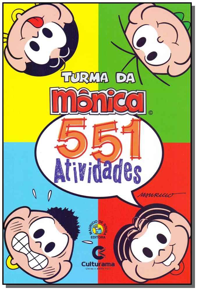 551 Atividades - Turma da Mônica