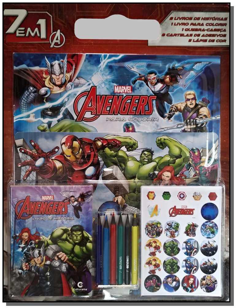 7 Em 1 Avengers