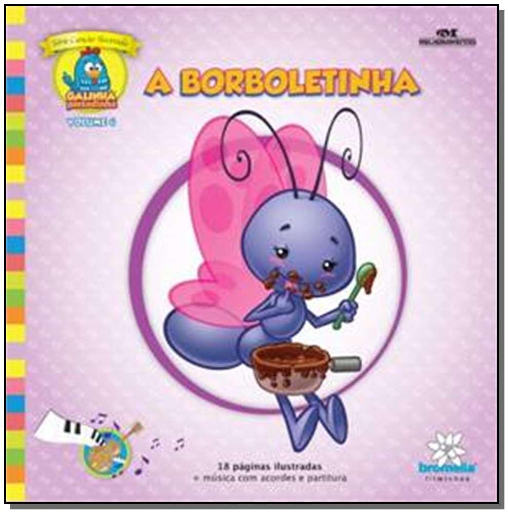 Borboletinha - Col c Llus g Pint v 4