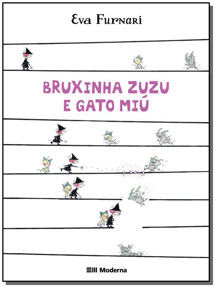 Bruxinha Zuzu e Gato Miú