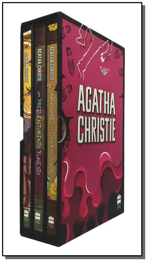 Col. Agatha Christie - Box 7 - 3 Vol. ( Pink)