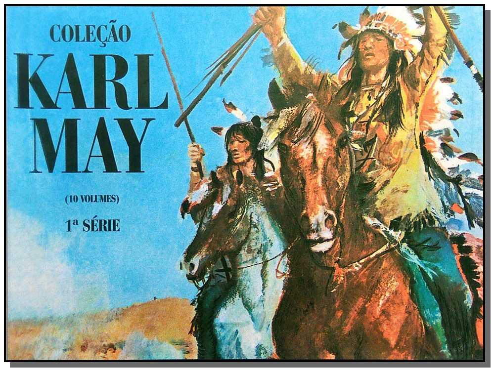Coleção Karl May - 10 Vols.