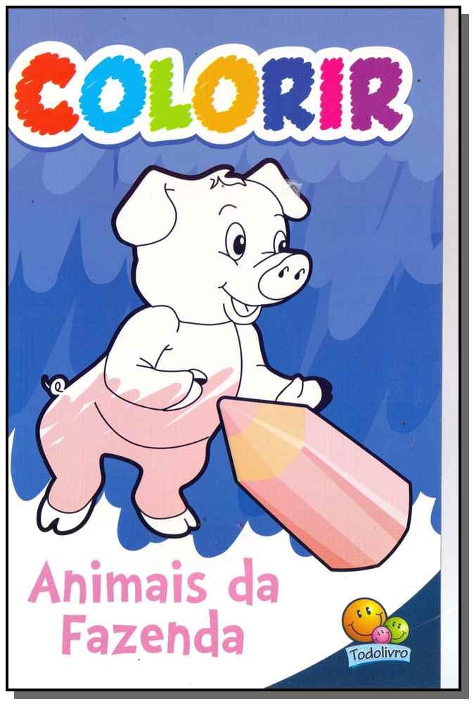 Colorir - Animais da Fazenda