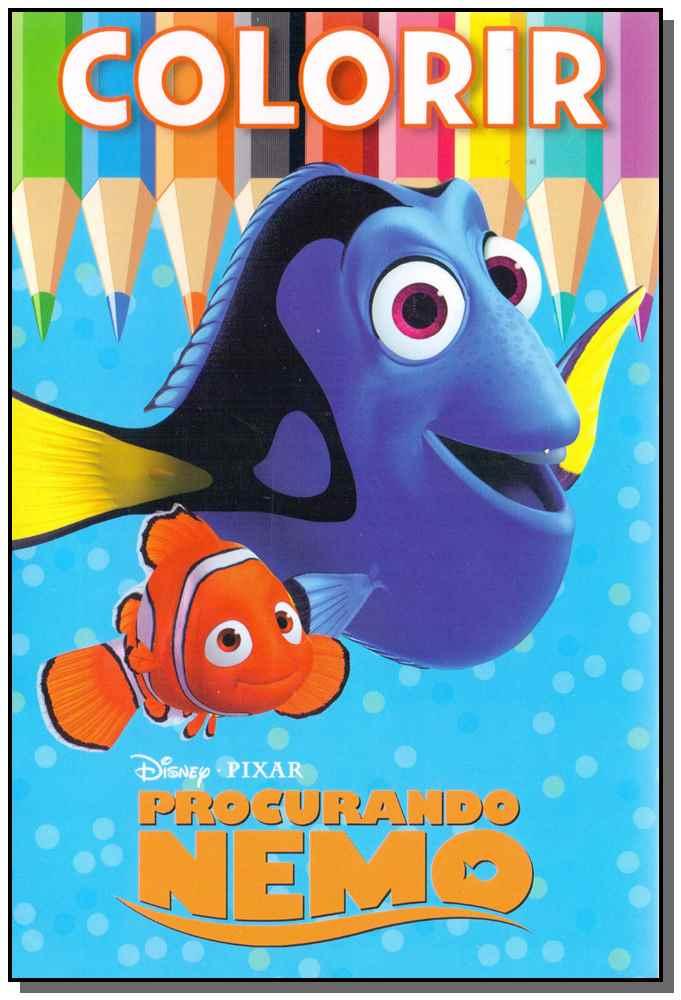Colorir Medio - Procurando o Nemo