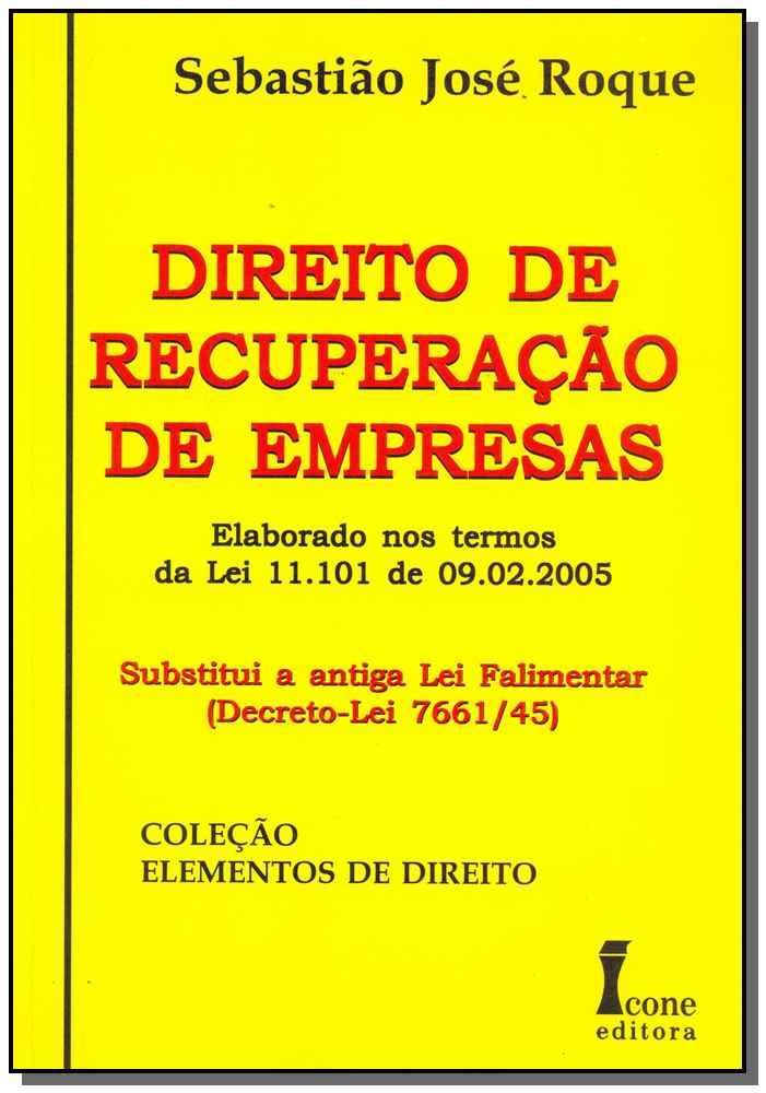 Direito de Recuperação de Empresas - 01Ed/15