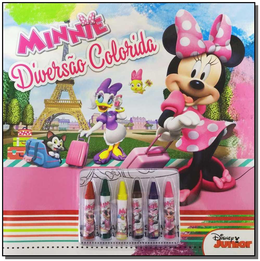 Disney - Diversão Colorida - Minnie