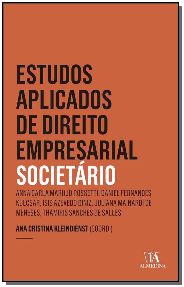 Estudos Apl. Dto. Emp. - Societario - 01Ed/19