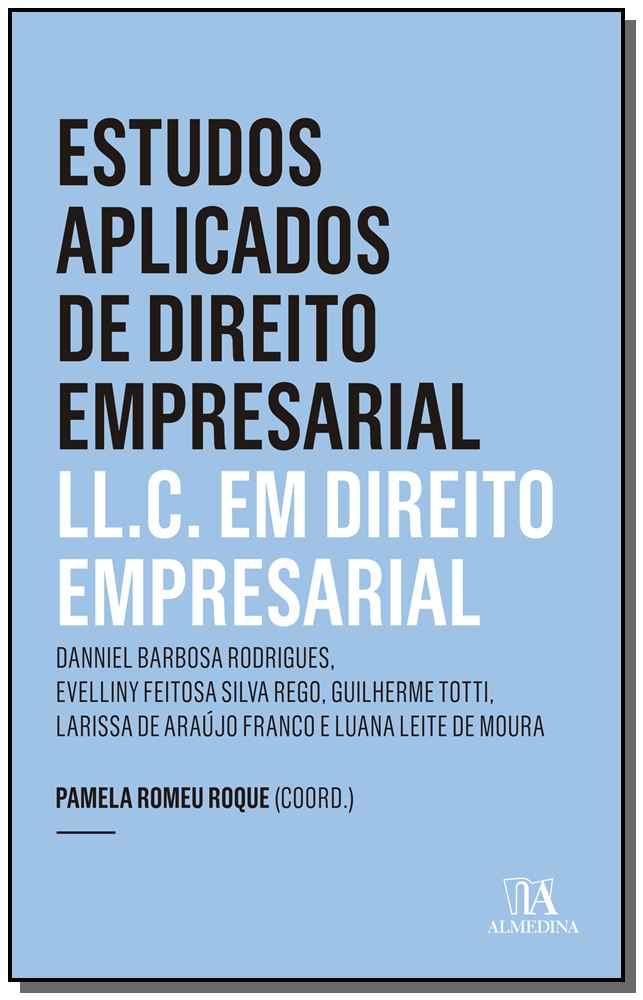 Estudos Aplicados de Direito Empresarial - LL.C. em Direito Empresarial - 01ED/19
