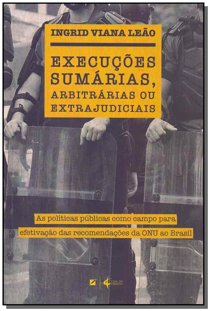 Execuções Sumárias, Arbitrárias e Extrajudiciais - 01Ed/18