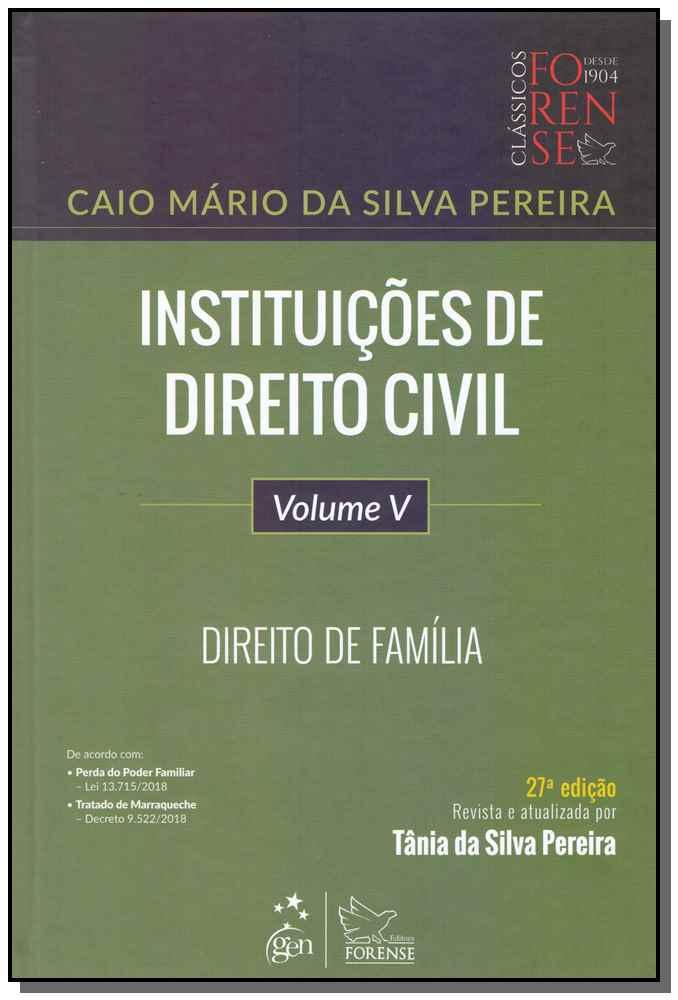 Instituições de Direito Civil - Vol.5 - 27Ed/19