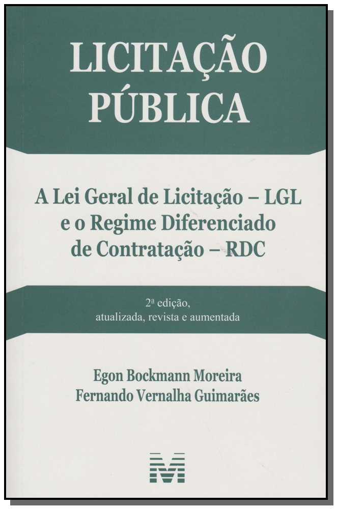 Licitação Pública - 02 Ed. - 2015