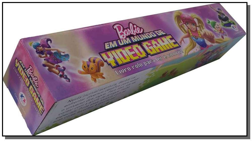 Livro Rolo Barbie Em Um Mundo De Videogame