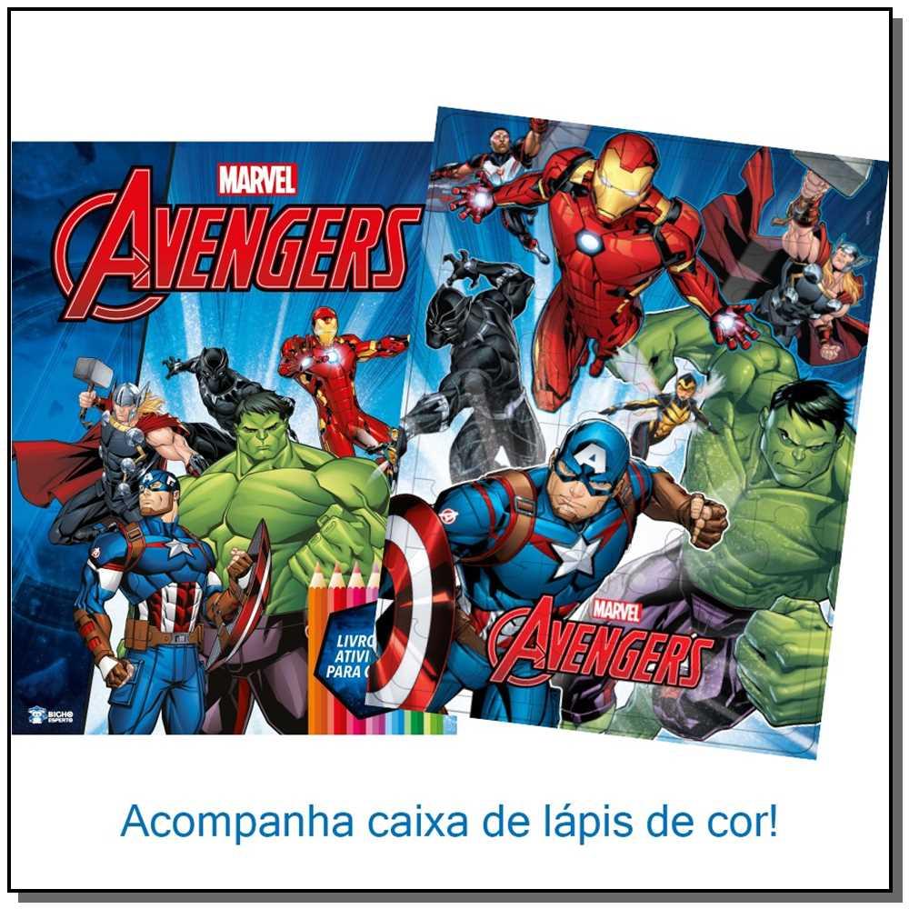 Marvel Kit Diversão - Avengers