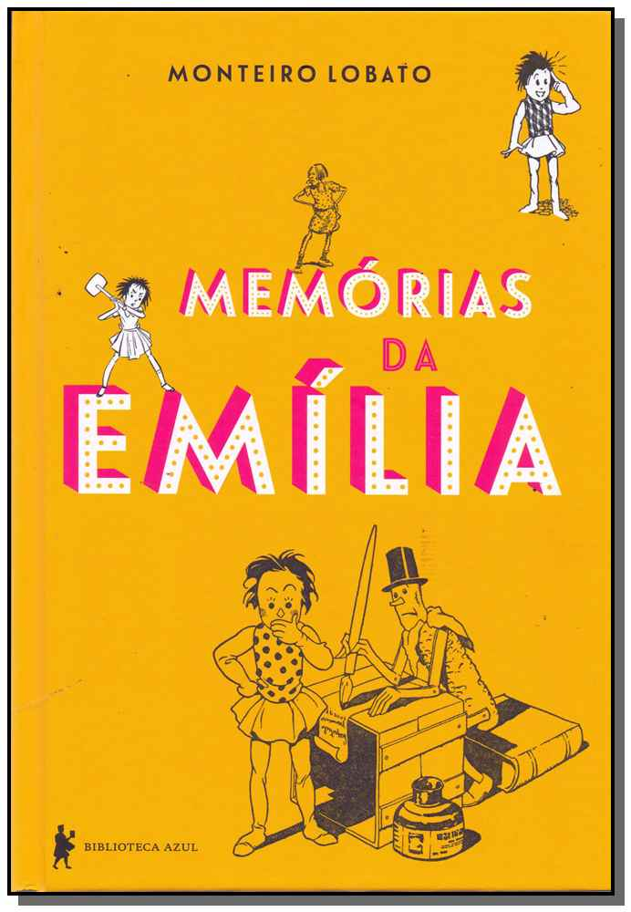 Memórias da Emília - Capa Dura