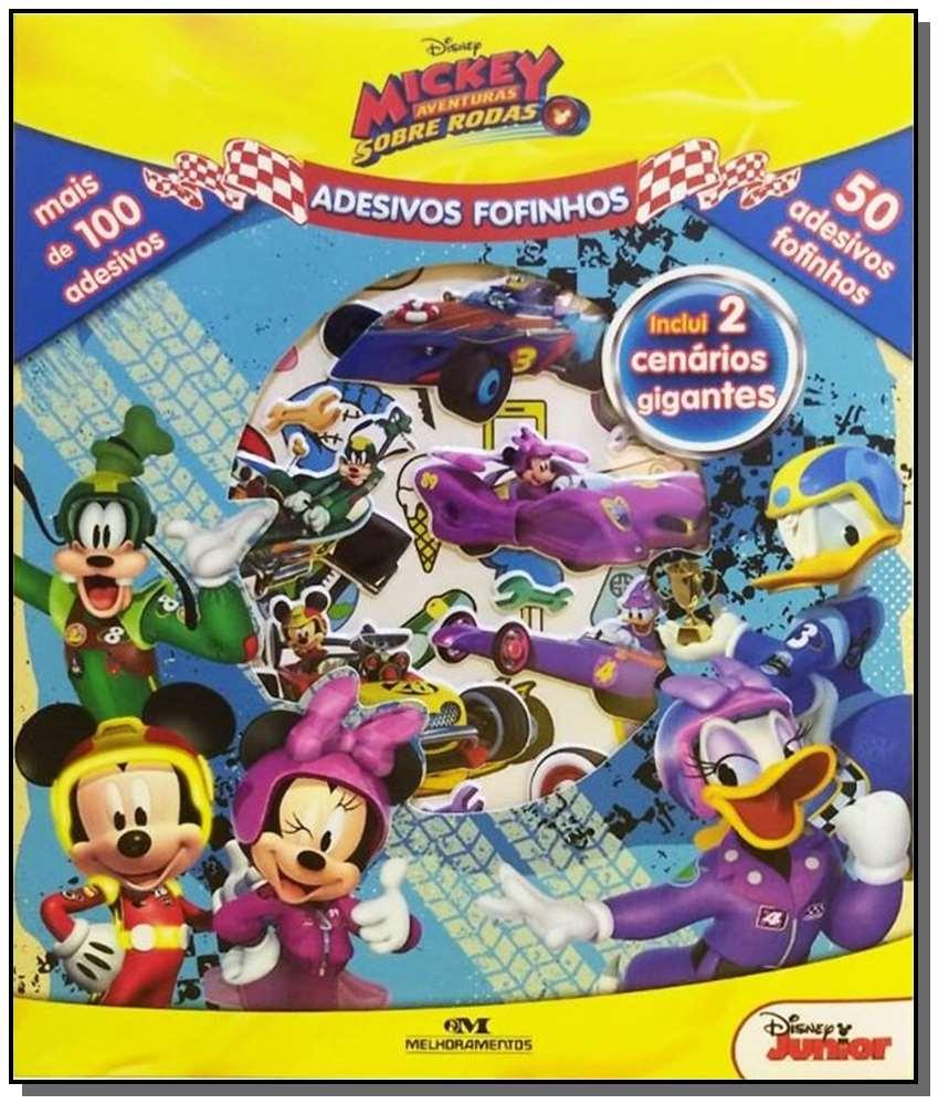 Mickey Aventuras Sobre Rodas - Adesivos Fofinhos