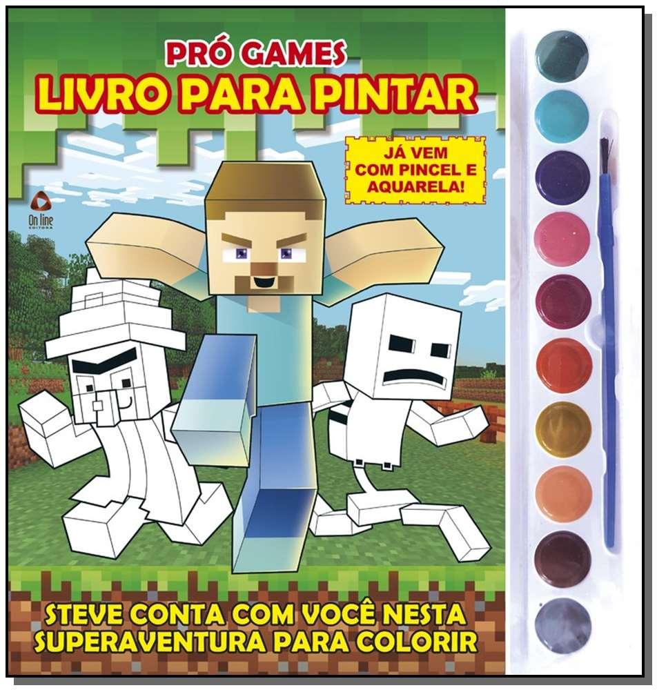 Minecraft Livro Para Pintar - 01Ed/21