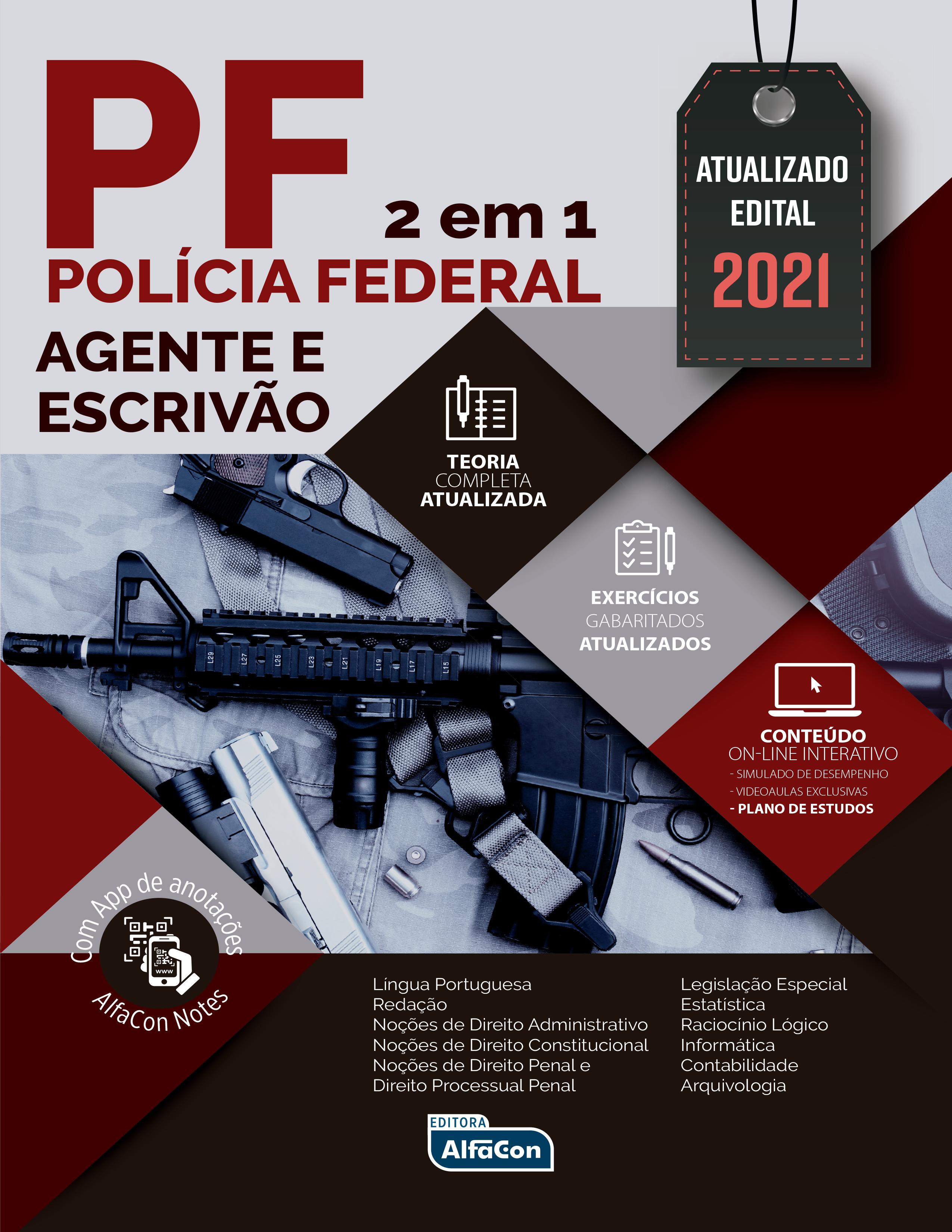 Polícia Federal 2 em 1 - Agente e Escrivão