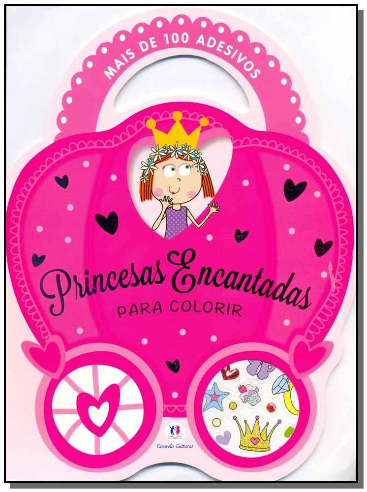 Princesas Encantadas Para Colorir