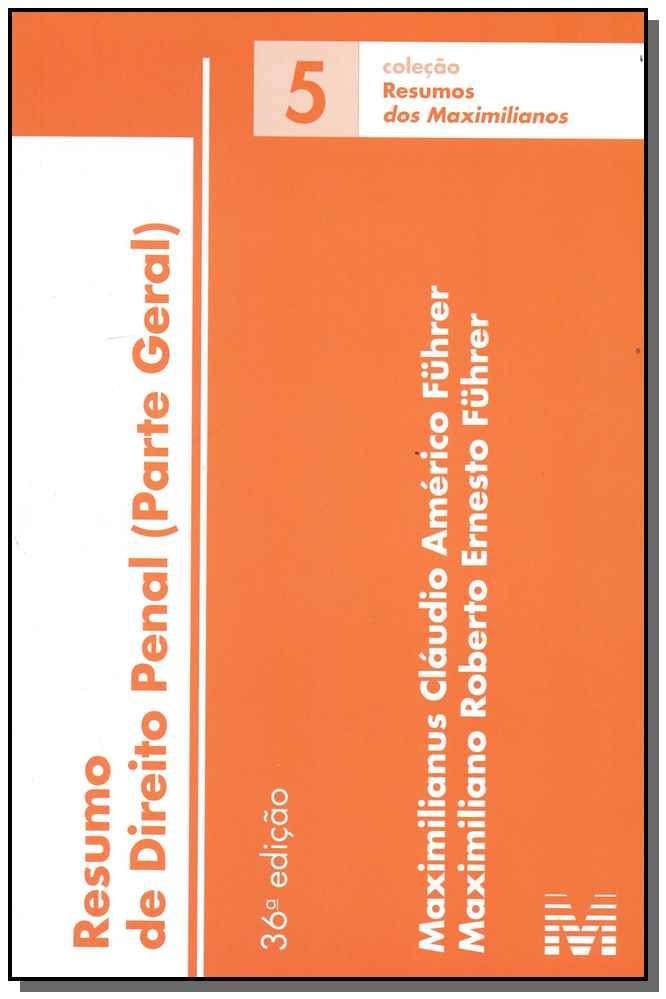 Resumo (05) Direito Penal - 36Ed/18