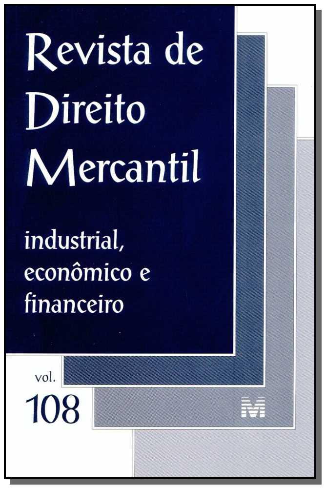 Revista De Direito Mercantil Vol. 108