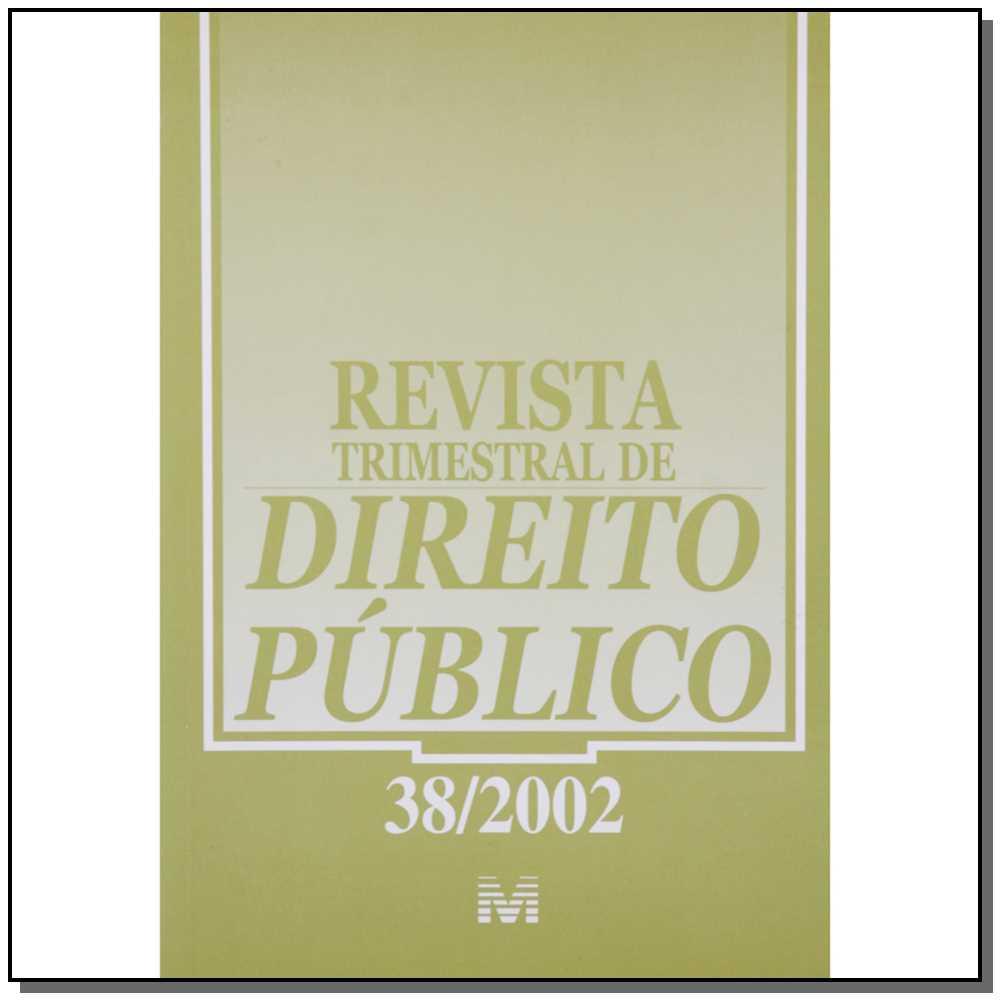 Revista Trimestral De Direito Publico Ed. 40