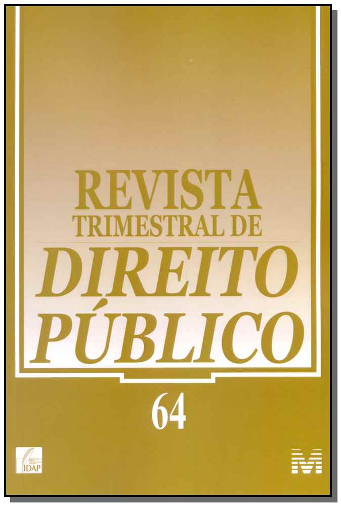 Revista Trimestral de Direito Público Ed. 64