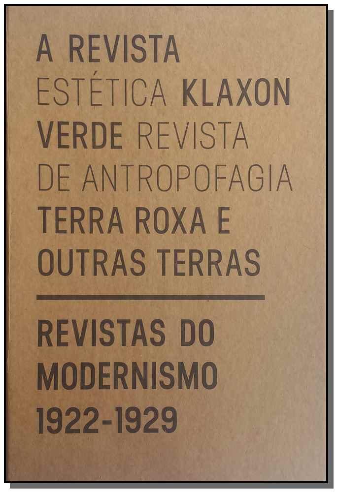 Revistas do Modernismo: 1922-1929 (Caixa)