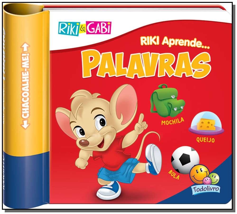 RIKI&G CHACOALHE-ME: PALAVRAS
