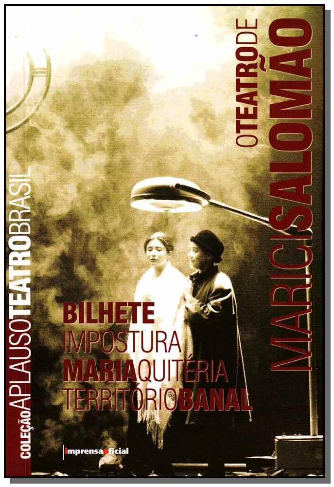 Teatro De Marici Salomao - Col.aplauso