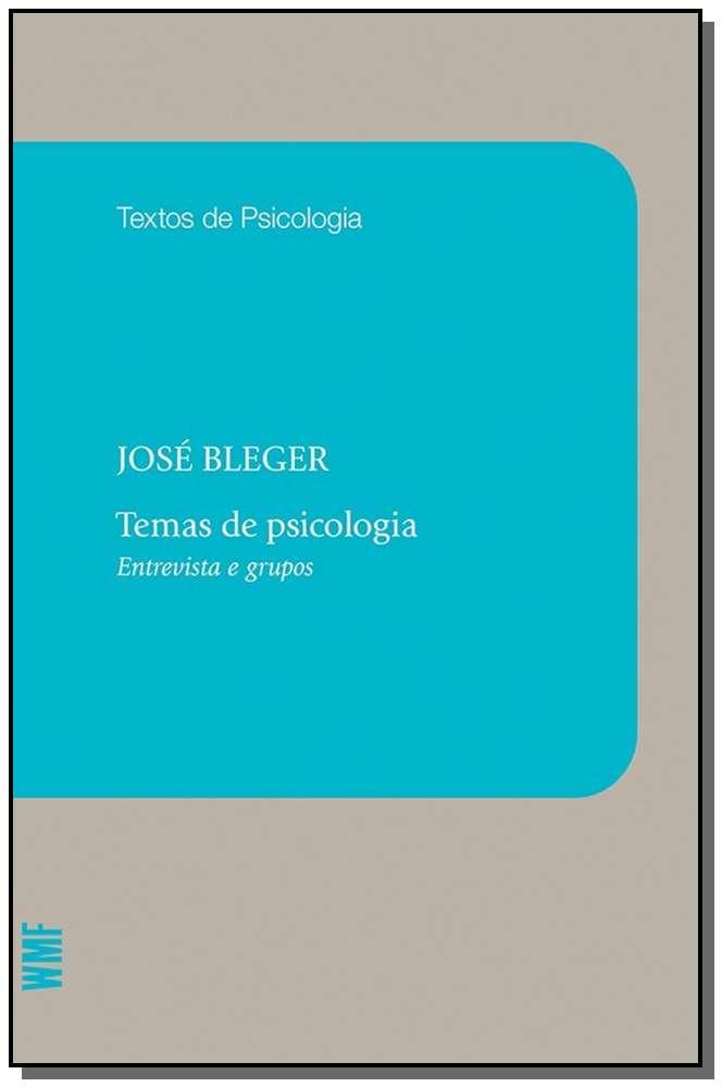 Temas de Psicologia - Entrevistas e Grupos