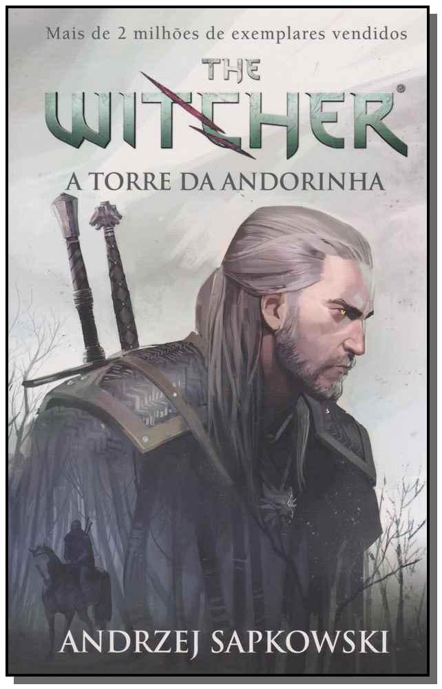 The Witcher - A Torre da Andorinha - Vol. 06 - (Capa Jogo)