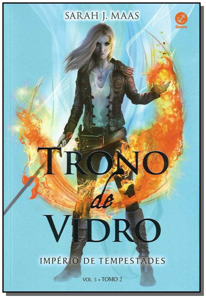 Trono De Vidro - Império De Tempestades - Vol. 02