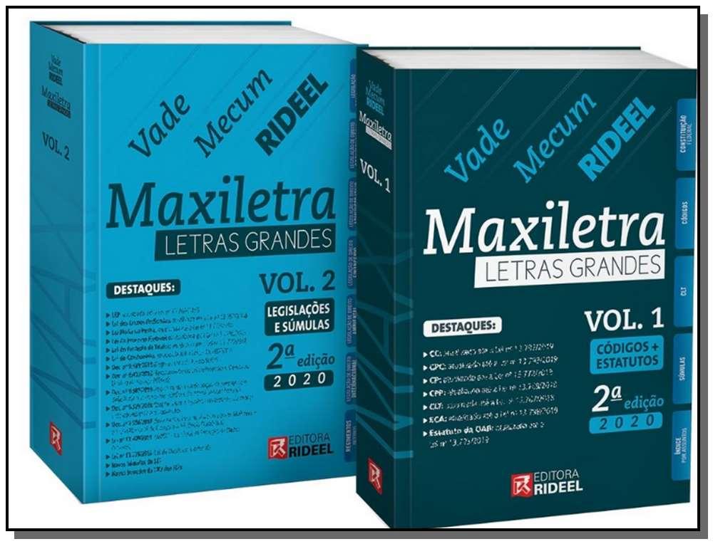 Vade Mecum de Direito Maxiletra - 2 Vol. - 02Ed/20