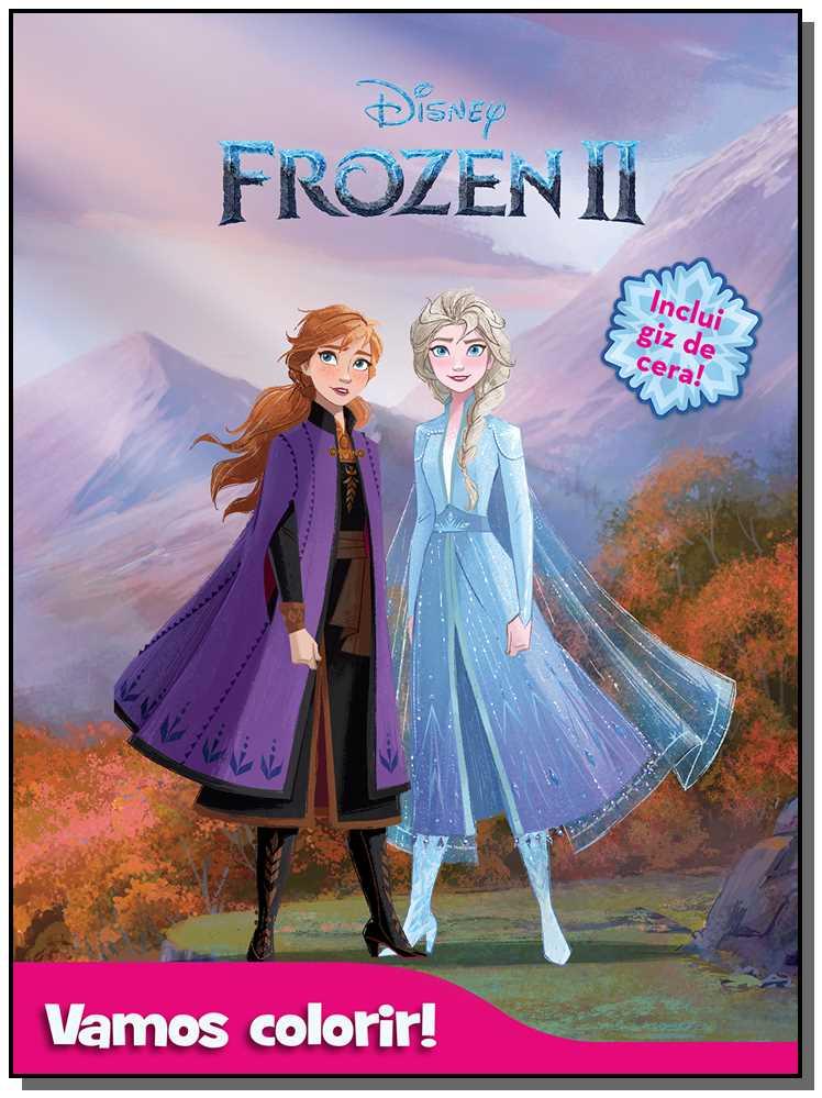 Vamos Colorir - Frozen 2