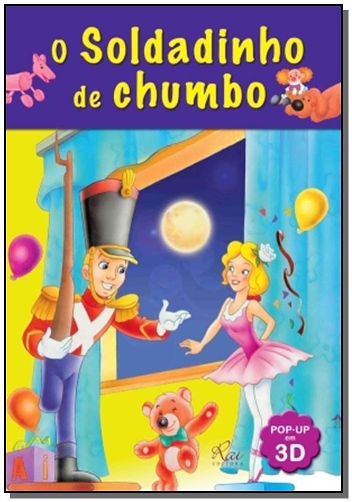 Zz-soldadinho De Chumbo, o - Livro Pop-up 3D