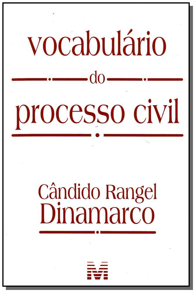Zz-vocabulario Do Processo Civil - 01Ed/09